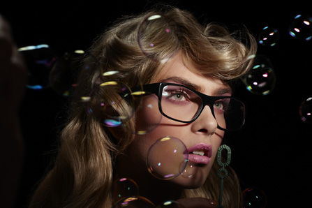 bubbles makeup by Dimitra Altani
