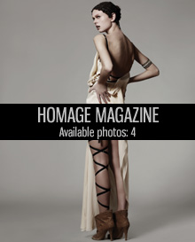 Homage magazine, ancient meets modern