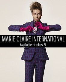 marie claire international, makeup trends